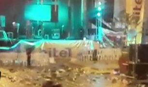 Huaraz: fiesta de aniversario termina en batalla campal