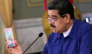 """Venezuela: incertidumbre por circulación del """"Bolívar Soberano"""""""