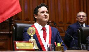 Legisladores se pronuncian tras elección de Salaverry como presidente del Congreso
