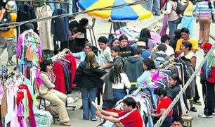 La Victoria permitirá el comercio ambulatorio en Gamarra por fiestas patrias