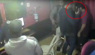 Ciudadanos extranjeros asaltan cabina de Internet en Surquillo