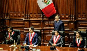 Mesa Directiva presidida por Salaverry se instala hoy en el Congreso