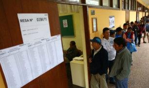 Elecciones 2018: ¿cuándo se conocerán los locales de votación?