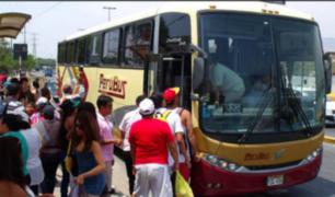 Viaje seguro: pasajeros podrán fiscalizar velocidad de buses