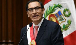 ¿Qué espera la población del Mensaje a la Nación de Vizcarra?