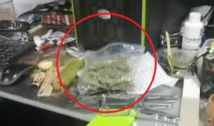 Surco: Policía descubrió laboratorio clandestino para elaboración de droga