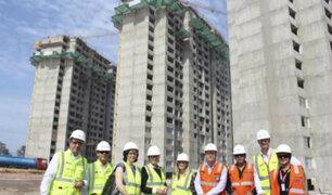 Presentan avances en la Villa Panamericana de Lima