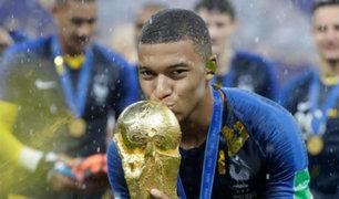 Mbappé desplaza a Neymar en el París Saint-Germain