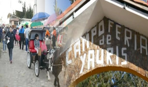 Huancayo: artesanos, ganaderos y productores se congregan en la tradicional feria de Yauris