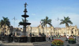 Inusual apagón se registra en los alrededores de Plaza de Armas