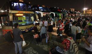 Fiestas Patrias: aumenta precio de pasajes en terminal de Yerbateros