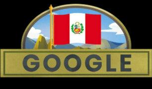 Fiestas Patrias: Google dedica 'doodle' por aniversario de nuestra independencia