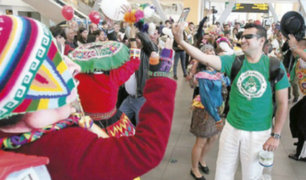 Fiestas Patrias: pasajeros disfrutan de danzas folclóricas en Aeropuerto Jorge Chávez