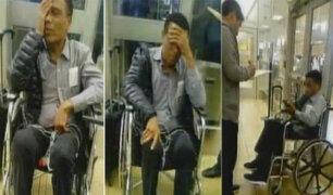 Teófilo Cubillas sufrió descompensación en aeropuerto Jorge Chávez