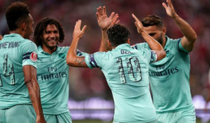 Arsenal salió victorioso 5-1 frente a PSG por la International Champions Cup