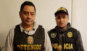 PNP detiene en su vivienda a exfuncionario de la ONPE, José Luis Cavassa