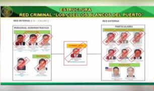 Esta es la estructura de la red criminal 'Los Cuellos Blancos del Puerto'