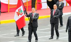 GEIN sí participó en desfile de Fiestas Patrias pese a que habían descartado su presencia