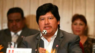 Edwin Oviedo renunciará a la FPF si le demuestran que cometió delitos