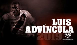 Luis Advíncula llegó oficialmente al Rayo Vallecano