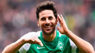Futbolista Claudio Pizarro es el nuevo fichaje del club Werder Bremen