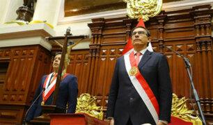 Mensaje presidencial: El presidente Vizcarra marca la cancha