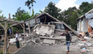 Indonesia: aumenta a 16 el número de muertos tras terremoto