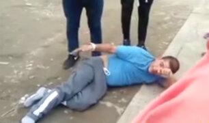 Detienen a sujeto que asaltó a prestamista en Villa el Salvador
