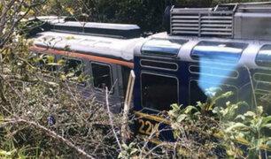 Choque de trenes en vía a Machu Picchu deja 19 heridos de gravedad