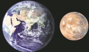 Marte estaría más cerca de la Tierra este 31 de julio