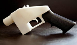 EEUU: fabricación legal de armas en 3D causan polémica en ocho estados