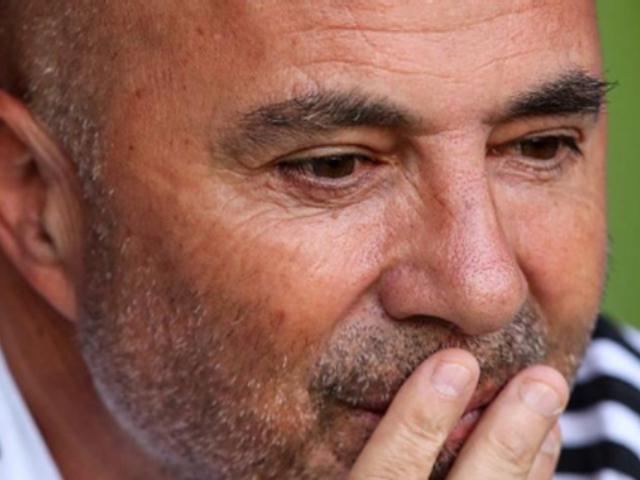Jorge Sampaoli tendría los días contados en la selección argentina