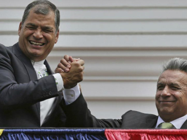Rafael Correa denuncia