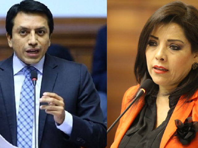 Congresista Gilbert Violeta denunciará a Alejandra Aramayo por difamación