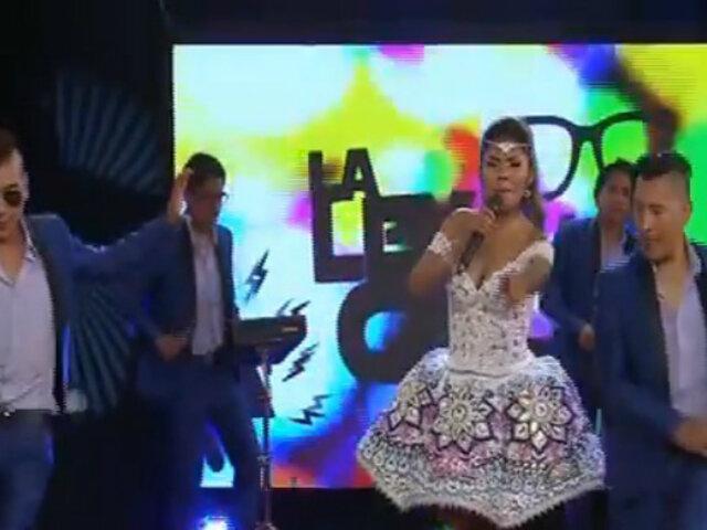 Yarita Lizeth deslumbró con su canto en 'La ley de la calle'