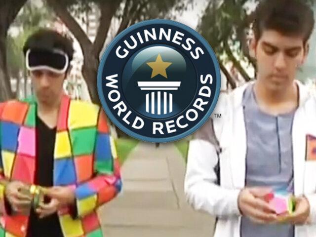 Cubo de Rubik: hermanos peruanos logran hazaña en los Record Guinness