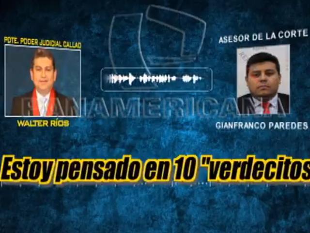 EXCLUSIVO: Panorama revela nuevos audios de magistrados César Hinostroza y Walter Ríos