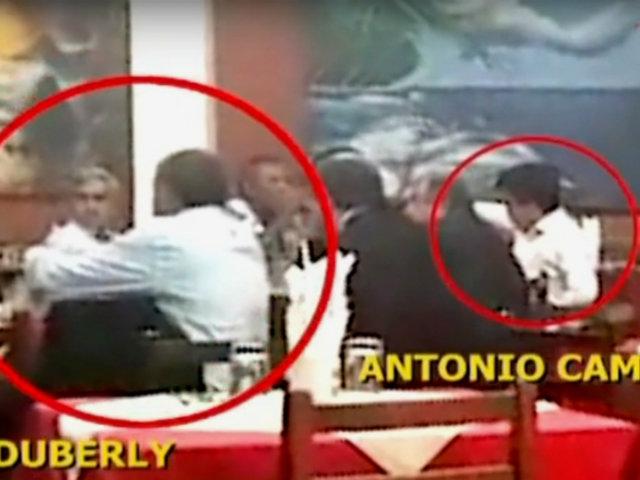 Duberlí Rodríguez y Antonio Camayo son captados juntos en reunión