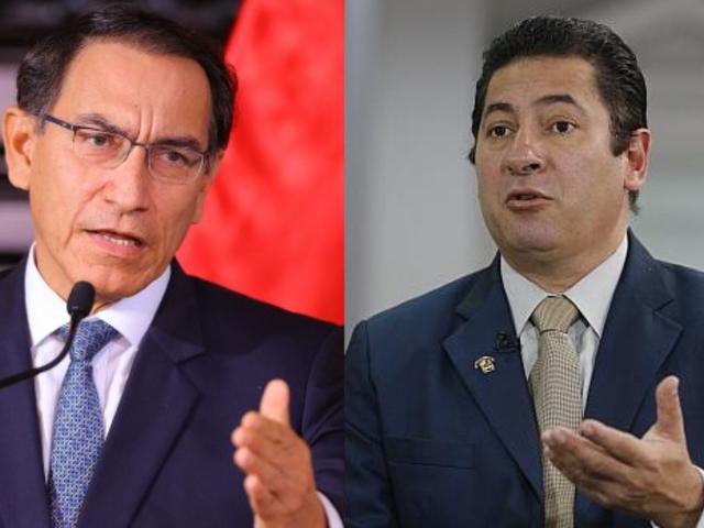 """Heresi a Vizcarra: cada vez que su popularidad desciende, """"pecha"""" al Congreso"""
