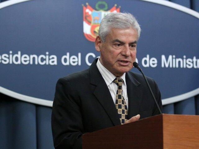 """César Villanueva sobre decisión de Uruguay: """"Confirma que no hay persecución política"""""""