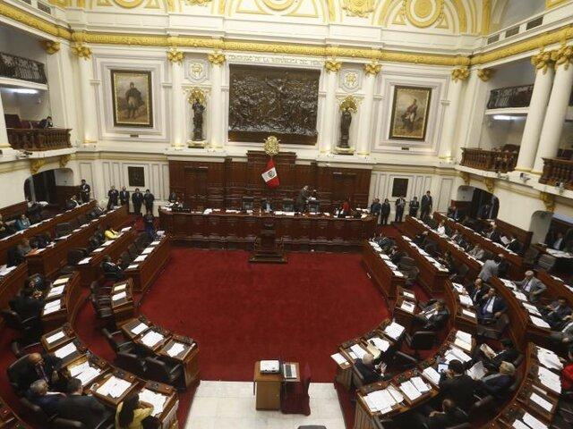 Congresistas de AP y FP insisten en que podrán reelegirse como senadores