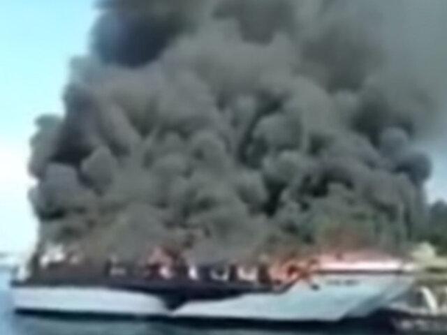 España: explosión de barco turístico deja 38 heridos en Galicia