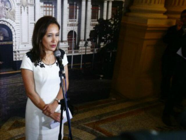 Paloma Noceda renuncia a la bancada de Fuerza Popular