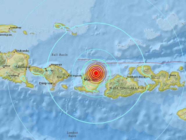 Indonesia: sismo de 6,4 deja 10 muertos y cerca de 40 heridos