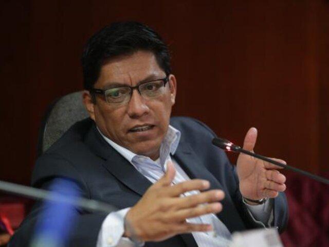 """Reforma política: Zeballos afirma que cuestión de confianza """"no está en la mente"""" del Ejecutivo"""