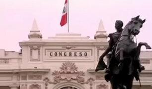 Junta de Portavoces acordó programar Pleno de Congreso para discutir reformas