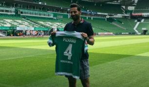Oficializan presencia de Claudio Pizarro en Werder Bremen