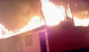 Callao: voraz incendio consumió 20 viviendas en Puerto Nuevo