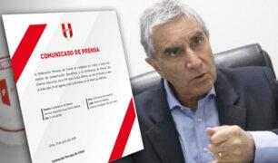Oblitas dará conferencia y hablará sobre renovación de Ricardo Gareca