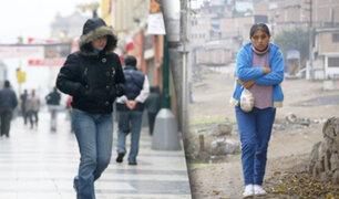 Lima registró la temperatura más baja del año esta madrugada